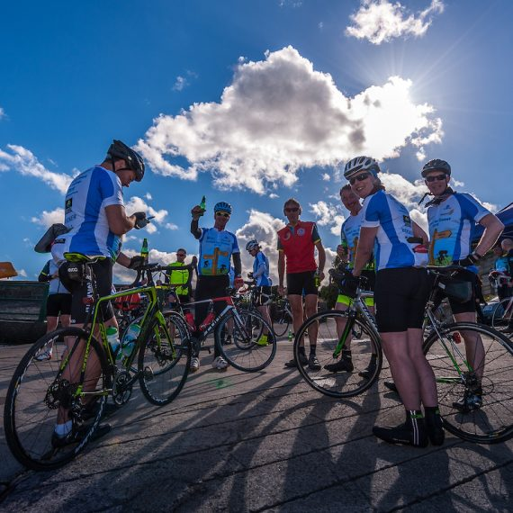 Grocery Aid Bike Ride Event for Charity