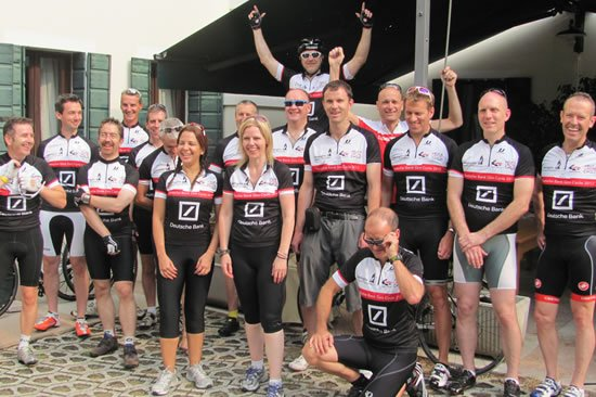 Corporate bike rides fully supported event management