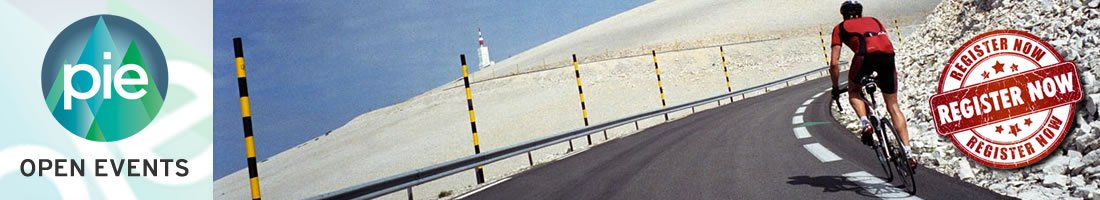 Mt Ventoux open ride road cycling event