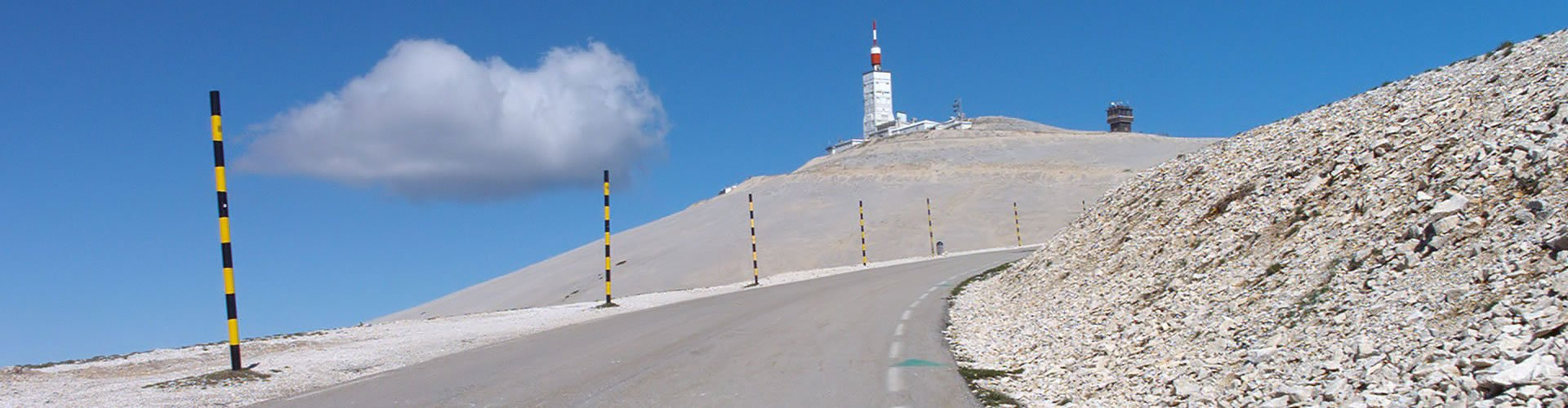 guided supported ventoux cycle ride bike event management Club des Cingles du Mont-Ventoux