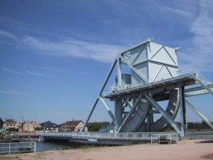 Paris to London Bike Ride - Pegasus Bridge