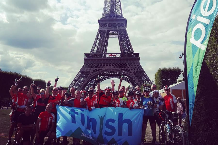 Lomdon to Paris Iconic Cycle Ride Challenge